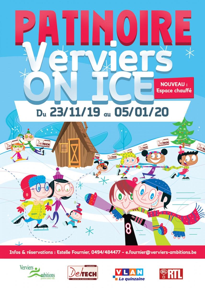 Verviers on Ice - Affiche-Logo