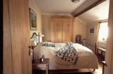 Fermette Bleue Chambre