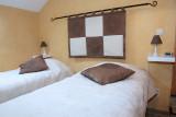 Gîte - Le Falihou - Chambre à coucher - 2 lits jumeaux