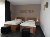 Les Gîtes du Moulin-Rose - Trois-Ponts - Chambre lits simples