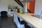 Fexhe-le-Haut-Clocher - Gîte Al Serinne - Le Verger - cuisine-séjour