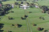 Cimetière US - Henri-Chapelle - vue aérienne