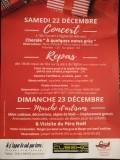 Marché Noel - Warnant Dreye - Affiche/Logo