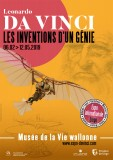 Exposition Leonardo da Vinci, les inventions d'un Génie - Affiche