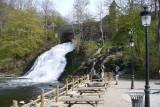 Coo cascade - Stavelot - vue de côté