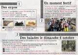 Ambresin - Sur les traces du train Zaman - Dépliant Verso