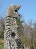 La Pierre au Fil du temps Comblain Sculptures Saint Martin - Chevalier © Les découvertes de Comblain