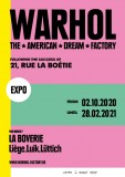 Exposition - Warhol - The American Dream Factory - Affiche officielle
