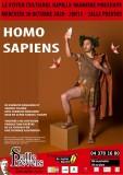 Théâtre - Homo Sapiens - Liège - Affiche