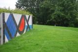 Balades au Sart Tilman : 5 circuits Art, Nature et Architecture - Fresque murale