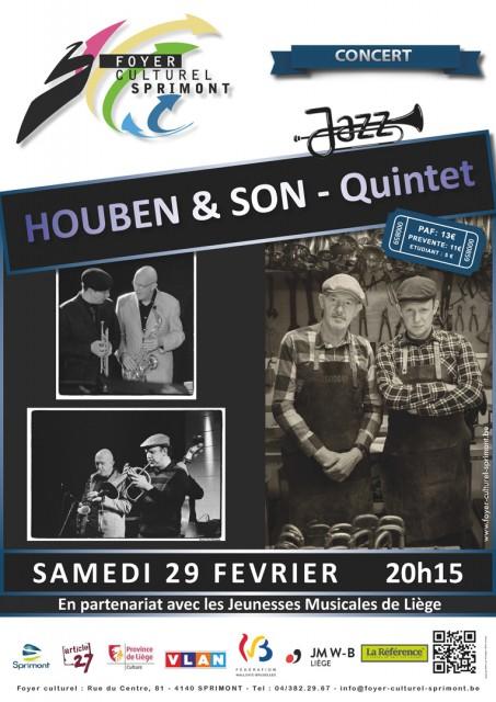 Concert – HOUBEN & SON – Quintet – Jazz | ©