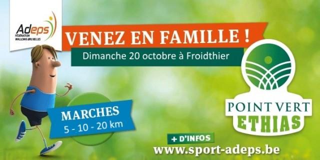 Marches ADEPS | © Ecole communale de Froidthier