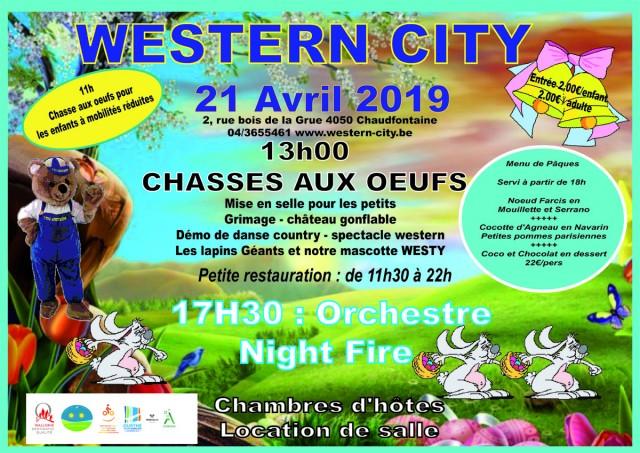 Grande chasse aux œufs   © Western-city