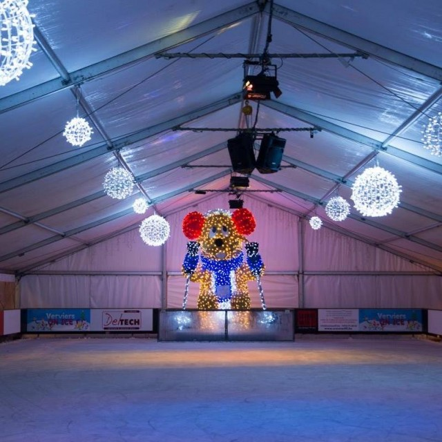 Verviers On Ice - Patinoire | © MTPV