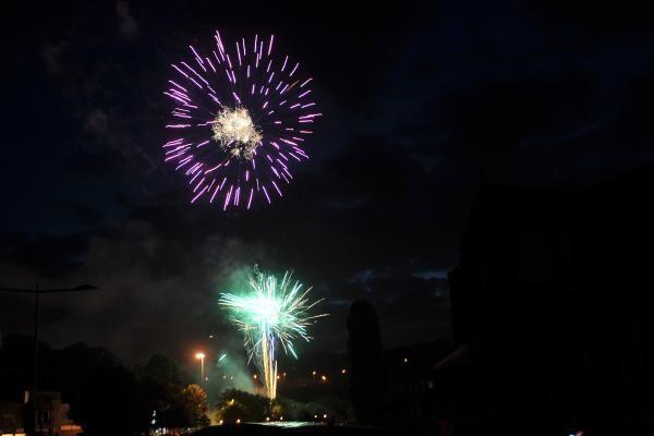Feu d'artifice de la fête nationale | ©