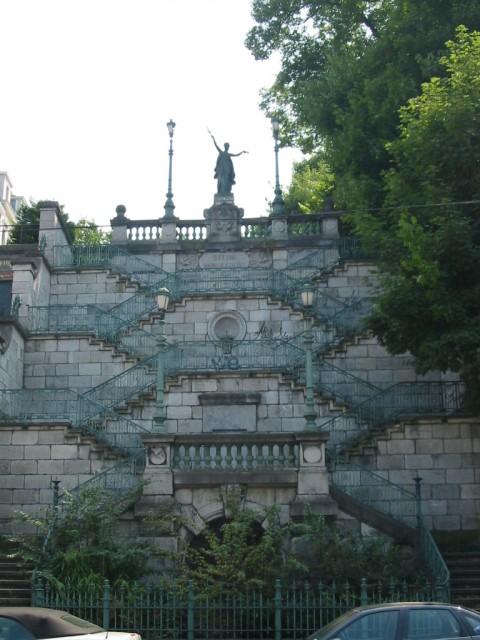 Visite guidée nocturne: Les escaliers de Verviers | ©