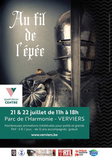 Verviers - Festival Au Fil de l'Epée - Affiche | ©