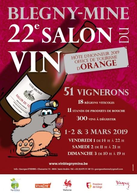 22e Salon du Vin Blegny-Mine2019   © Blegny-Vin