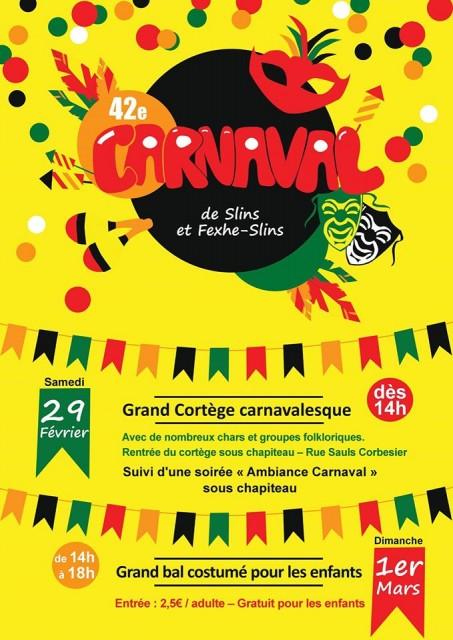 29022020-Slins-Carnaval-Affiche | ©