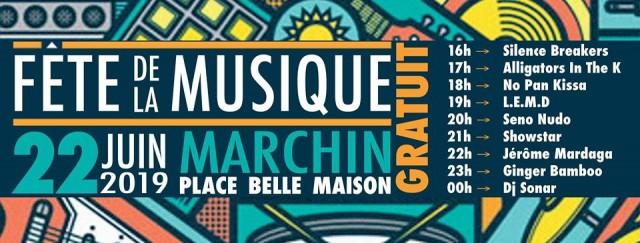 Fête Musique - Marchin - Affiche | ©