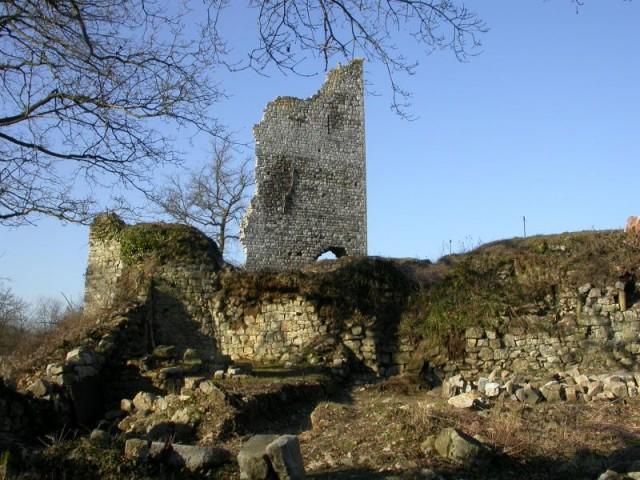 Ben-Ahin - Ruines de Beaufort - donjon | © Pays de Huy