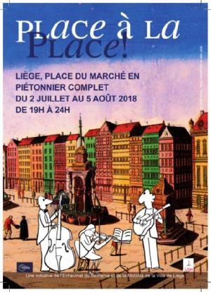 Liège - Place à la Place ! | ©