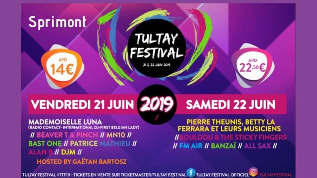 Tultay Festival - Sprimont - Affiche | ©