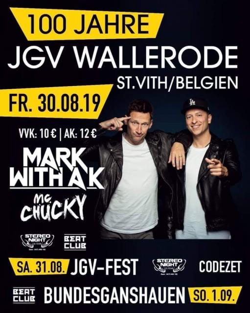 Mark with a K - JGV Wallerode - affiche | © La Jeunesse de Wallerode