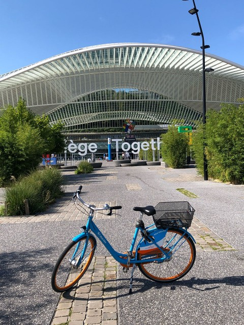 Liege Bike Tour - Liège - Gare des Guillemins   © Liege Bike Tour