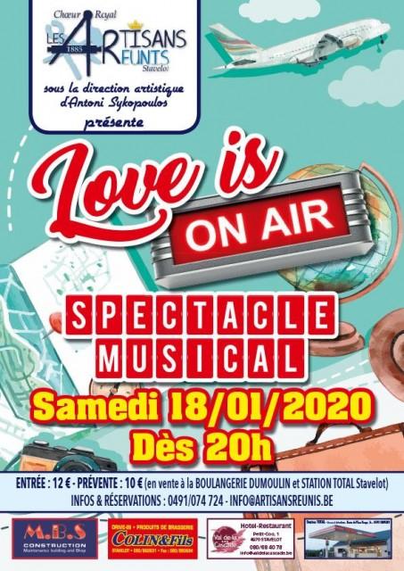 Love is on air - les artisans réunis | © Les artisans réunis