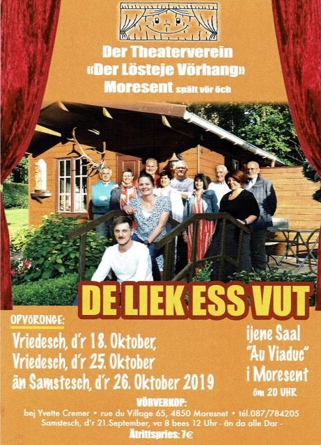 Pièces de théâtre Moresnet   © Der Lösteje Vörhang