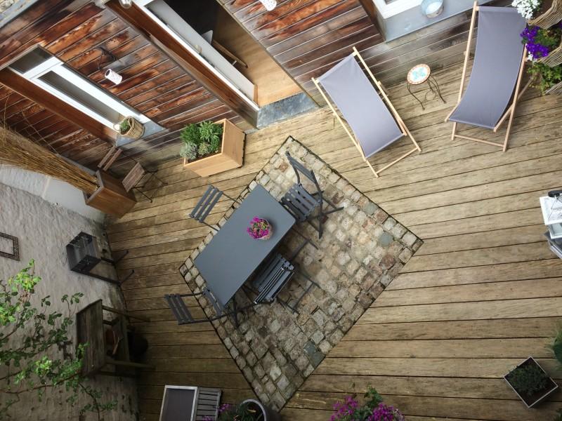 La cour terrasse