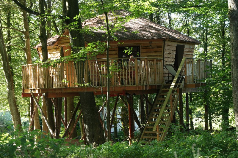 Meublé - Spa - La cabane du bois dormant