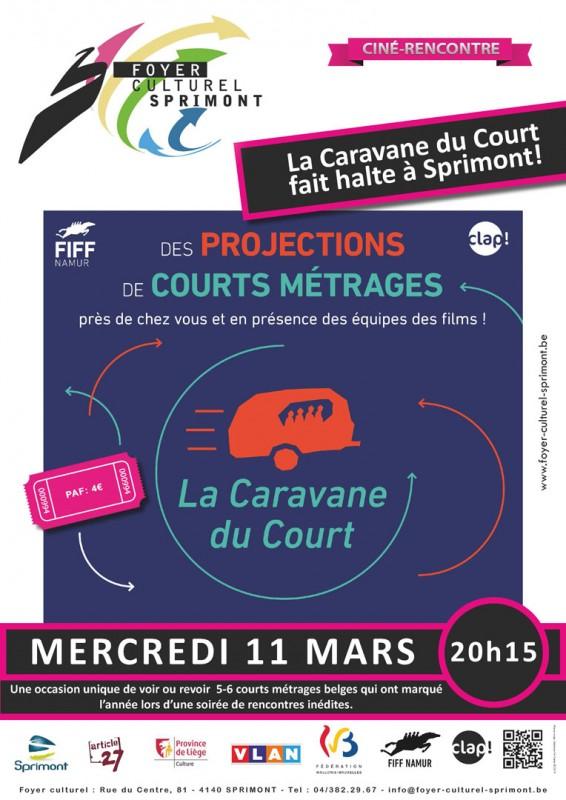 Projections- rencontres: «La Caravane du Court »