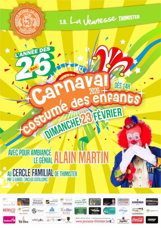 26e Carnaval Costumé des Enfants