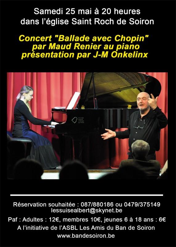 Concert Ballade avec Chopin