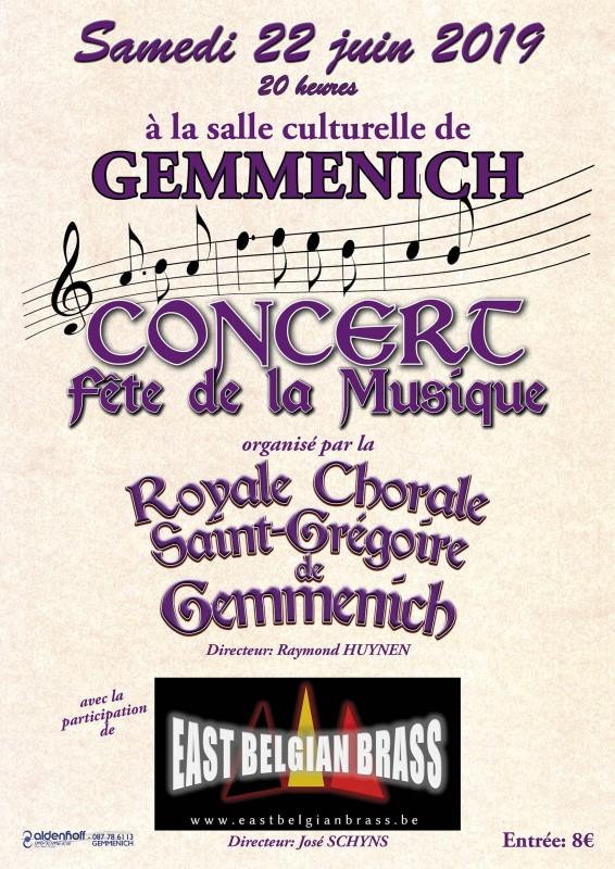 Concert fëte de la musique