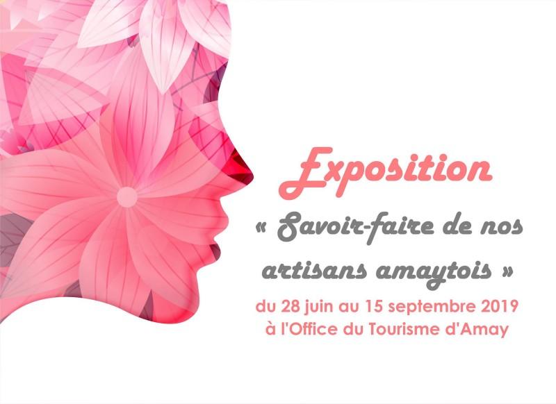 Affiche officielle-Expo-Savoir-faire de nos artisans amaytois