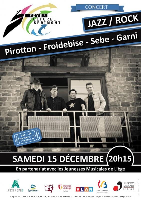 Froidebise-Pirotton Quartet - Sprimont - Affiche/Logo