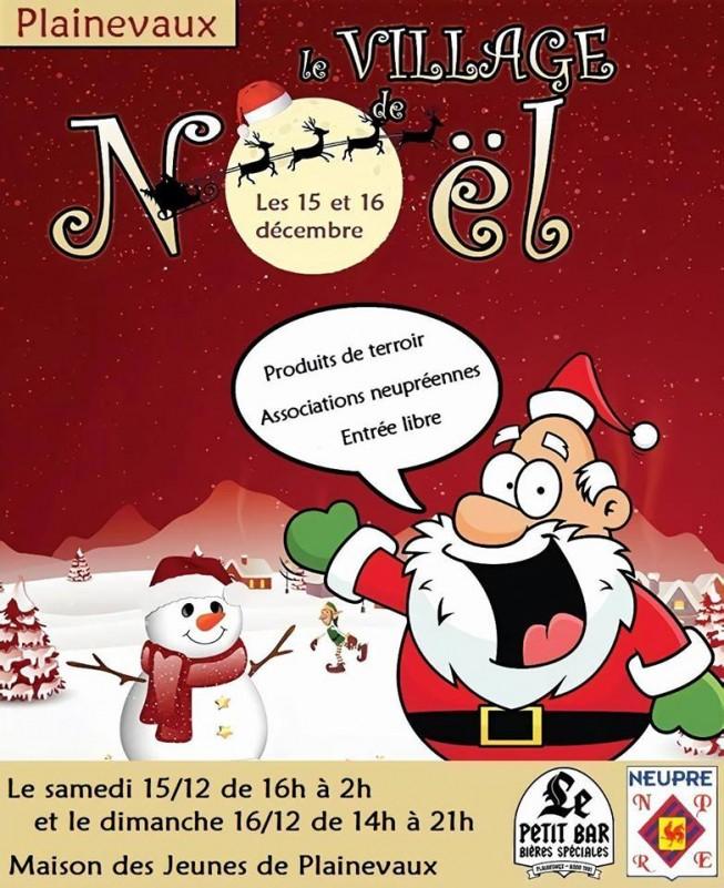Village de Noël - Neupré - Affiche/Logo