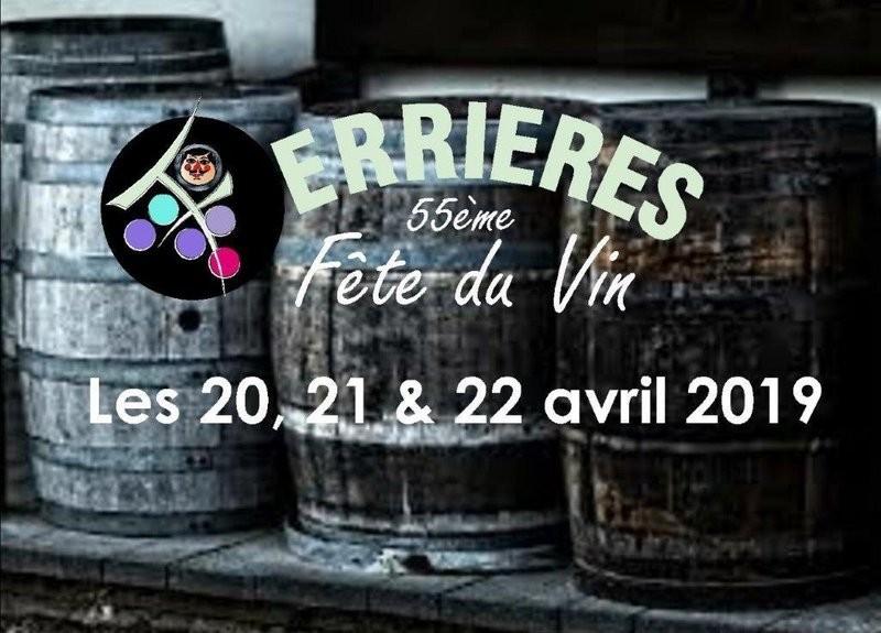 Ferrières - 55e Fête du Vin - Affiche 2019