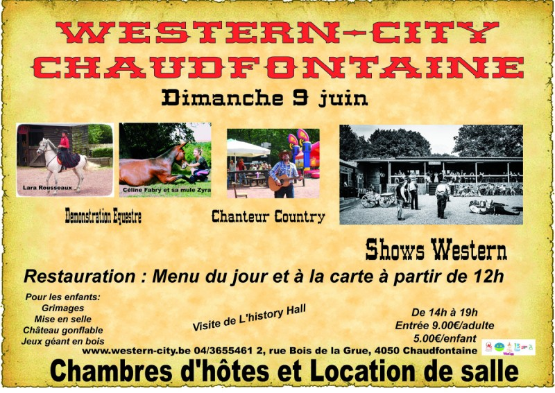 Spectacle western-shows