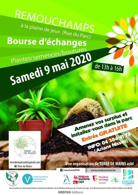 Bourse aux plantes 9 mai remouchamps
