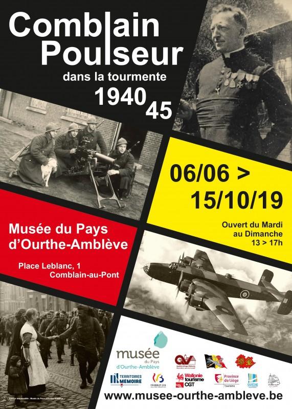 Exposition : Comblain-Poulseur dans la tourmente 40-45
