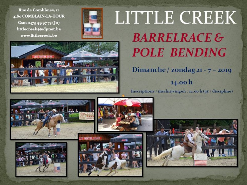 Barrelrace and pole bending