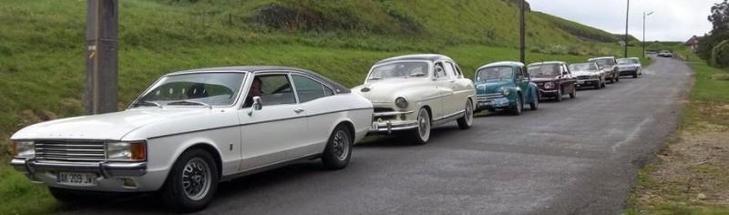 Concentration de voitures ancêtres