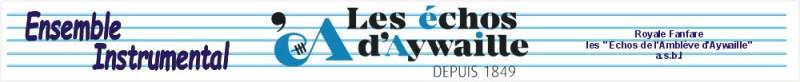 Concert de gala de l'Ensemble instrumental Les Échos d'Aywaille