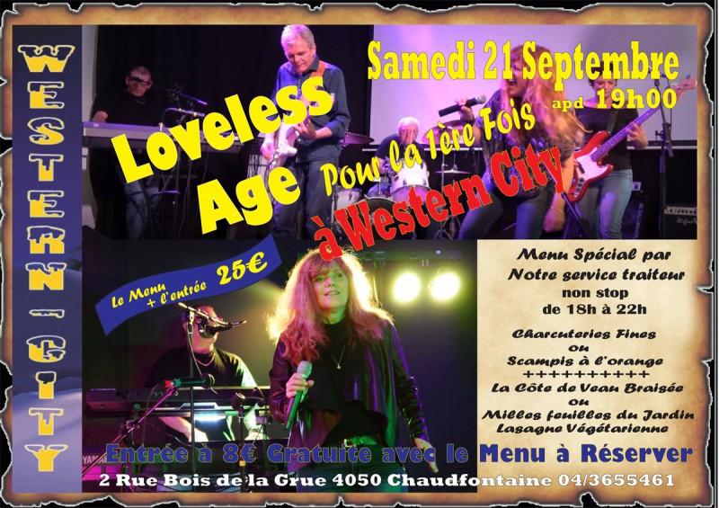Lovelee age en concert pour la première fois à Western-City