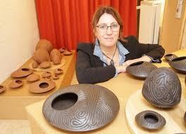 Expo de la céramiste Isabelle Damsaint