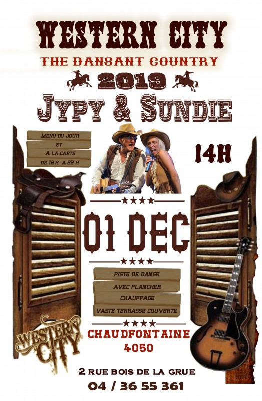 Concert country « Jypy et Sundy »